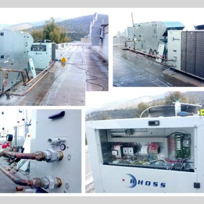 Heat pump αέρα/νερού